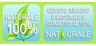 marchio rimedio naturale garantito 100%